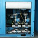 Очистка водой аппаратом ультра-высокого давления